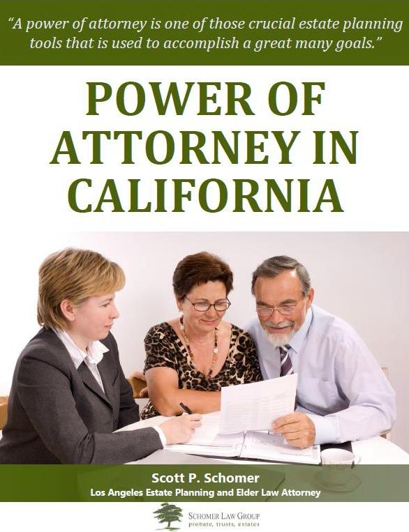 Power of Attorney in California