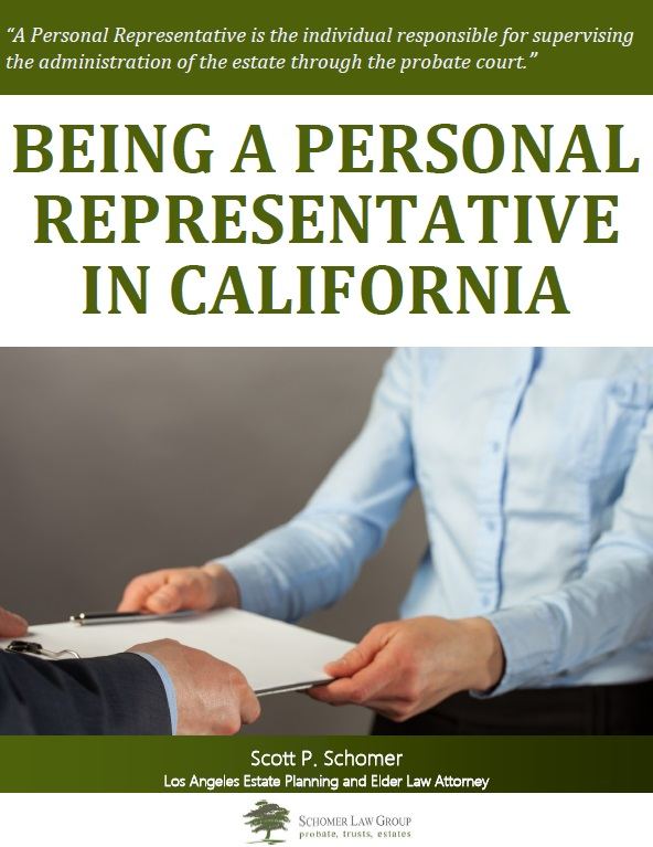 Being a Personal Representative in California