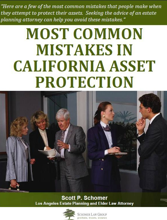Common Mistakes in California Asset Protection
