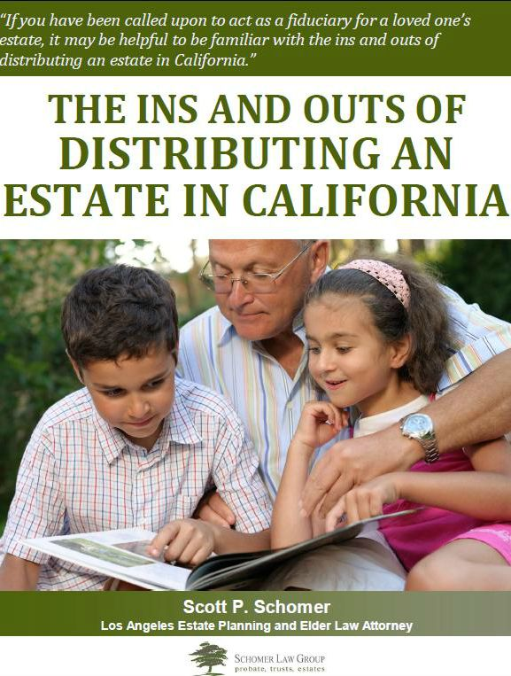 The Ins and Outs of Distributing An Estate in California