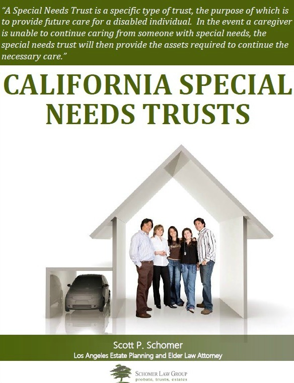 California Special Needs Trusts