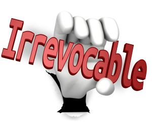 what makes a trust irrevocable