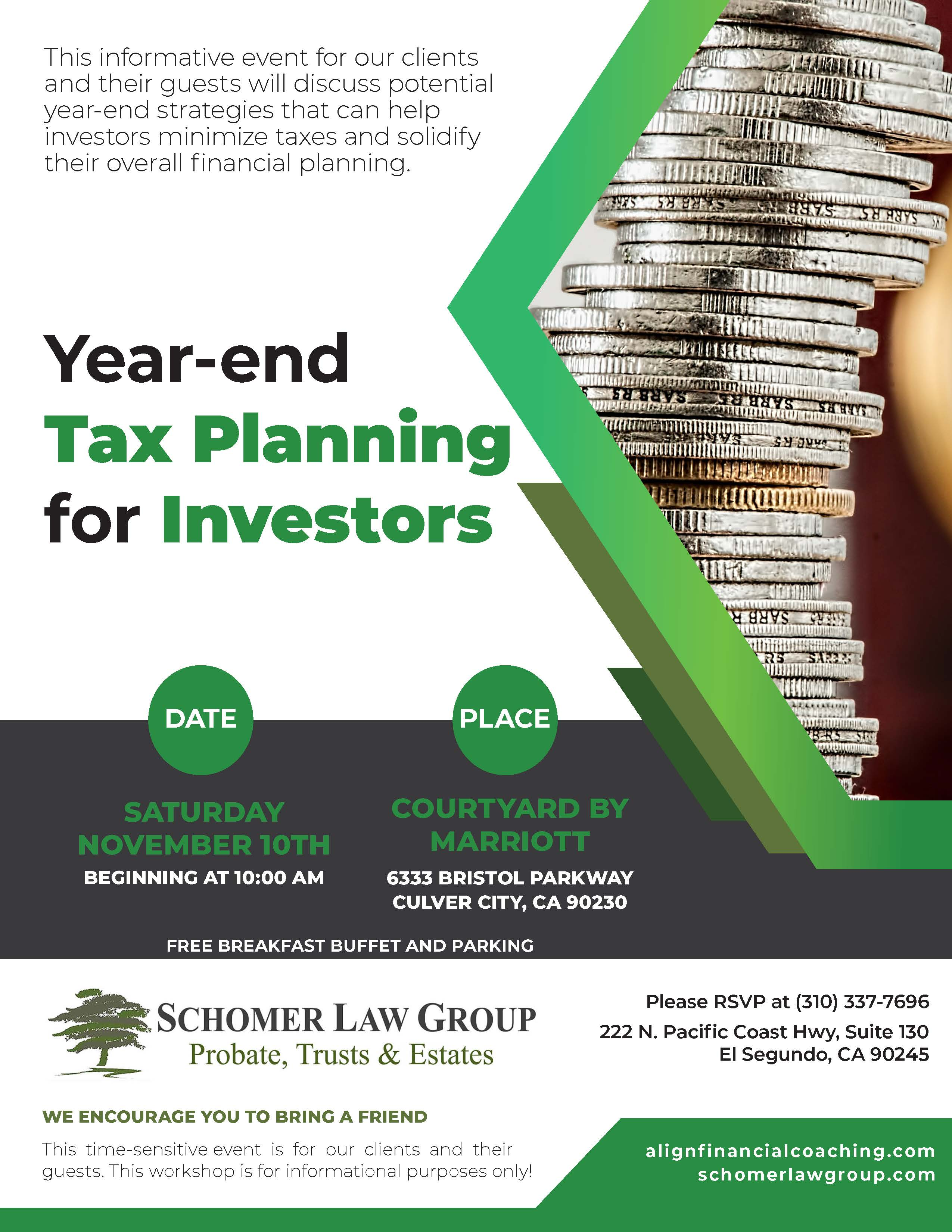 Year-End Tax Planning for Investors